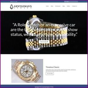 ROLEX-WATCH-Website-Business-For-Sale-Earn-4-340-40-A-SALE-FREE-Domain-Hosting