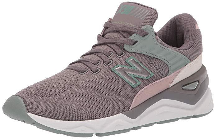 New Balance Women's Lifestyle shoes Grey Pink White Green WSX90PLF X-90v1