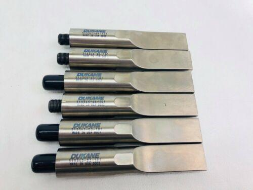 new Branson Dukane Ultrasonic Sonic Welder Horn 515345-03-101-515345-04-101
