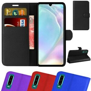 Details about For Huawei P30 Pro/Lite Premium Leather Wallet Case Magnetic Closure Flip Cover
