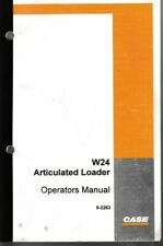 Case W24 Articulated Loader Operators Manual
