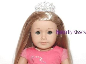 Gem-Pearl-Tiara-Crown-18-in-Doll-Clothes-Fits-American-Girl