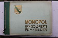 23511 Zigaretten Bilder Album Monopol handkolorierte Film-Bilder B Schauspieler