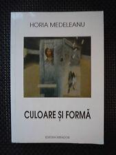 Horia Medeleanu - Culoare Si Forma  - Rumänischer Kunstkatalog