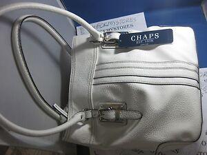 f18b2de8f9 NWT Ralph Lauren Chaps Plaid Tote Birmingham Bag Purse SUPERIOR ...