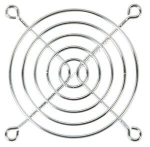"50mm//2/""inch//5cm Metal Wire Box//CPU Fan Grill//Finger Guard//Cover{SILVER//CHROME"
