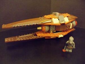 LEGO-Star-Wars-Rare-Geonosian-Pilot-with-Fighter-4478
