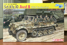 Dragon 1/35 German WWII Half-Track Sd.Kfz.10 Ausf.B 1942 Production 6731, Sealed
