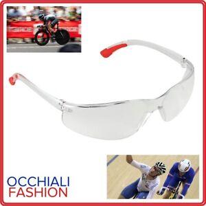 occhiali protettivi trasparenti moto lenti da lavoro uomo ciclismo mtb per corsa