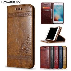 Luxury-Leather-Magnetic-Flip-Wallet-Case-Cover-for-iPhone-7-Plus-X-8-6-6s-5-SE-4