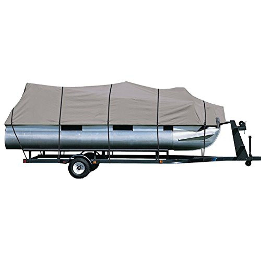 Pyle Prossoective Storage Boat Cover  Waterproof for 17 to 20ft Pontoon PCVHP660