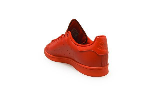 Mens Adidas Stan Smith  - S75547 - Red Trainers