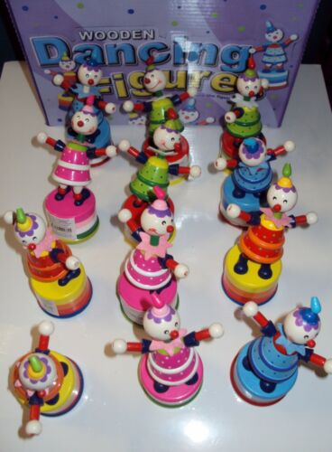 party filler, favours goody bag 36 x Traditional wooden dancing figures