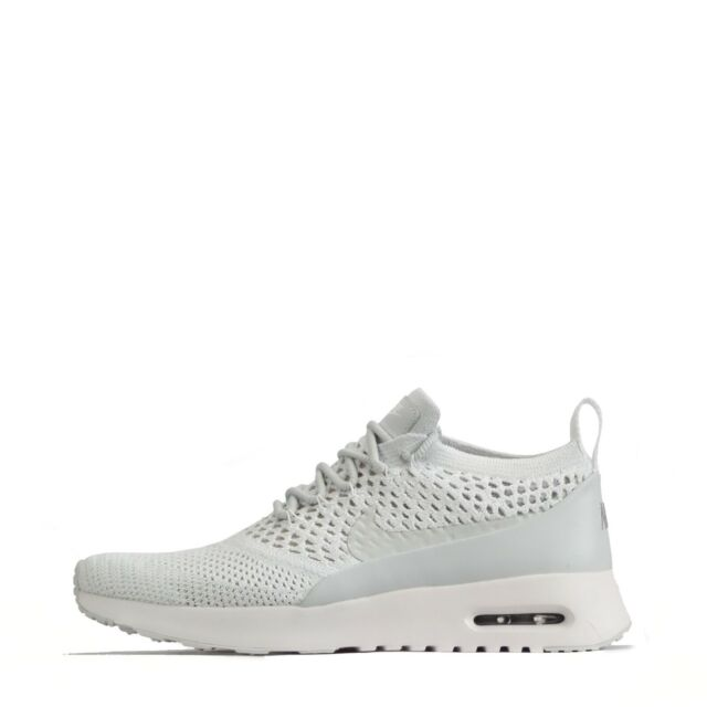 on sale d648b 92d6a Nike Air Max Thea Ultra Flyknit Women's Trainers, Pure Platinum