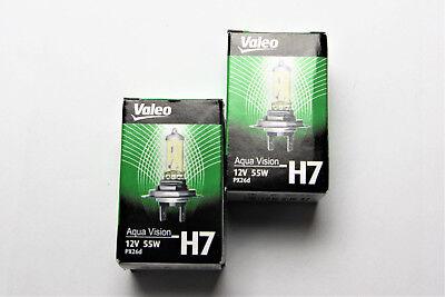Halogen Scheinwerfer Set f/ür Megane 01.06-11.08 H7//H1 ohne Motor 1379903