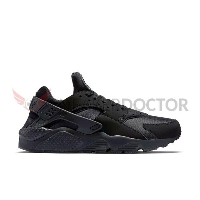 5bb47393bb7a Nike Air Huarache Mens Size 11.5 Triple Black 318429 003 for sale ...
