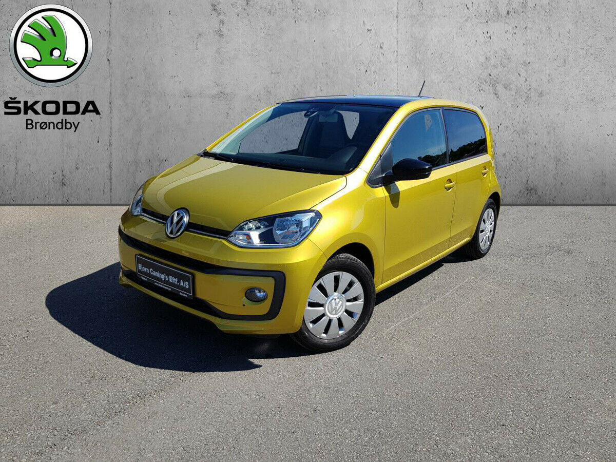 VW Up! 1,0 MPi 60 Move Up! BMT 5d - 89.900 kr.