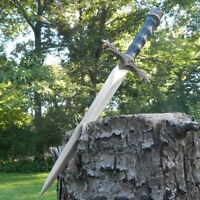 13.5 Medieval King Arthur Historical Short Sword Dagger Scabbard W/ Sheath