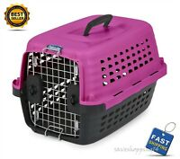 Petmate Kennel Compass Plastic Pets Chrome Door 2 Way Dog Carrier Pet Cat Crate