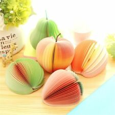 Fruit Memo Pads Cute Sticky Notes Creative Diy Stickers Paper Office Supplies