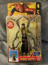 """MARVEL TOY BIZ 6/"""" ACTION FIGURE /& TENTACLE ATTACK BASE 2004 RARE ~ Spiderman 2"""