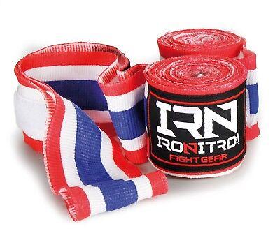 Bende Bendaggi Fasce Thailand Ironitro Kick Boxing Thai Boxe Muay Thai Comodo E Facile Da Indossare