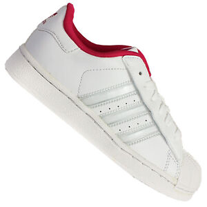 adidas scarpe bambina superstar con le strisce rosa