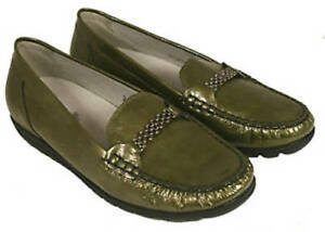 E Uk 5 Raccordo 437551 da Casual Waldlaufer Slip On misura Olive donna Pwq0z6vnxp