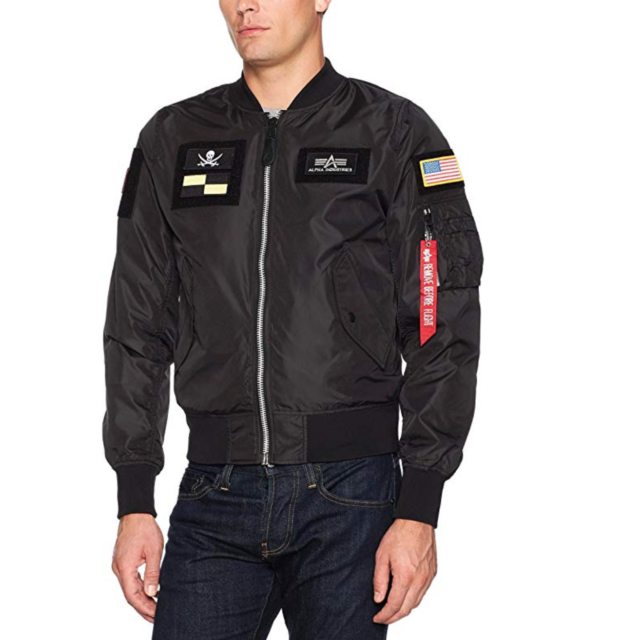 Alpha Industries L-2B Flex Flight Jacket Sage MJL47000C1 MSRP $150