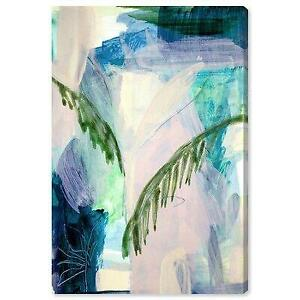 Bay Isle Home™ Abstract Tropical Leaves Framed Canvas Art - 82% Off Canada Preview