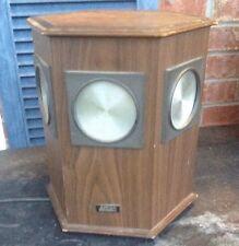 Akai NDS-70 Hexagonal Omni Directional Speaker Needs Rewired 12 Inches Tall