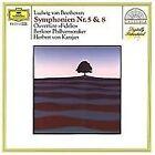 Ludwig van Beethoven - Beethoven: Symphonies 5 & 8; Fidelio Overture (1987)