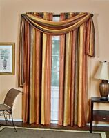 Achim Home Furnishings Ombre Scarves, 50 By 144-inch, Autumn , New, Free Shippin