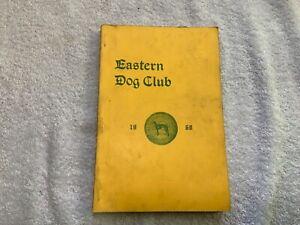 Vintage-1968-Dog-Show-Catalog-Eastern-Dog-Club-Boston-with-2nd-prize-Ribbon