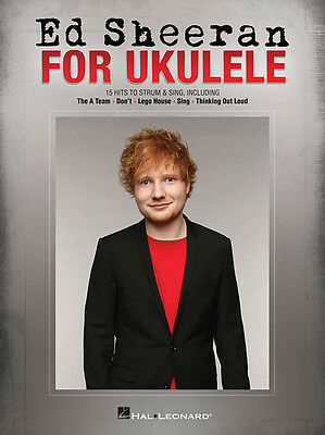 Ed Sheeran For Ukulele 15 Songs! Book NEW!