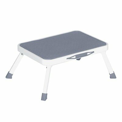 Folding Step Stool For Adults Seniors Metal Portable Rv