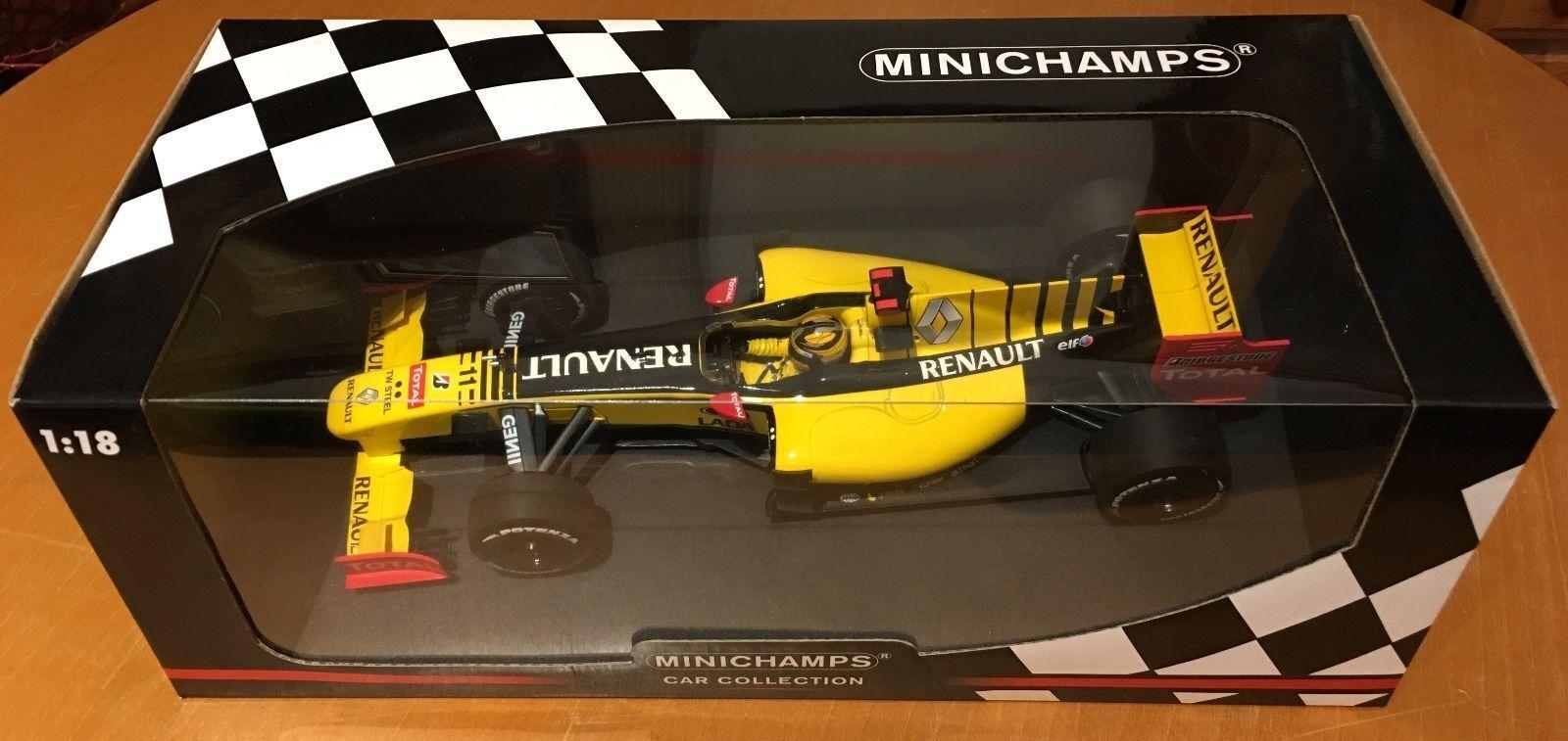 entrega rápida 1 18 Minichamps Renault F1 R30 2010 ShowCoche-Robert Kubica-Nuevo Y Y Y Rara  hasta un 60% de descuento
