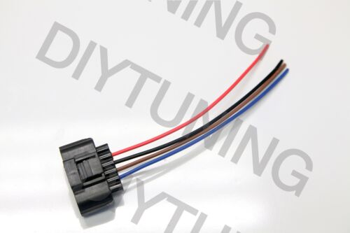 Ford Mustang Mass Air Flow MAF pigtail 1996 to 2004 4 WIRE connector plug