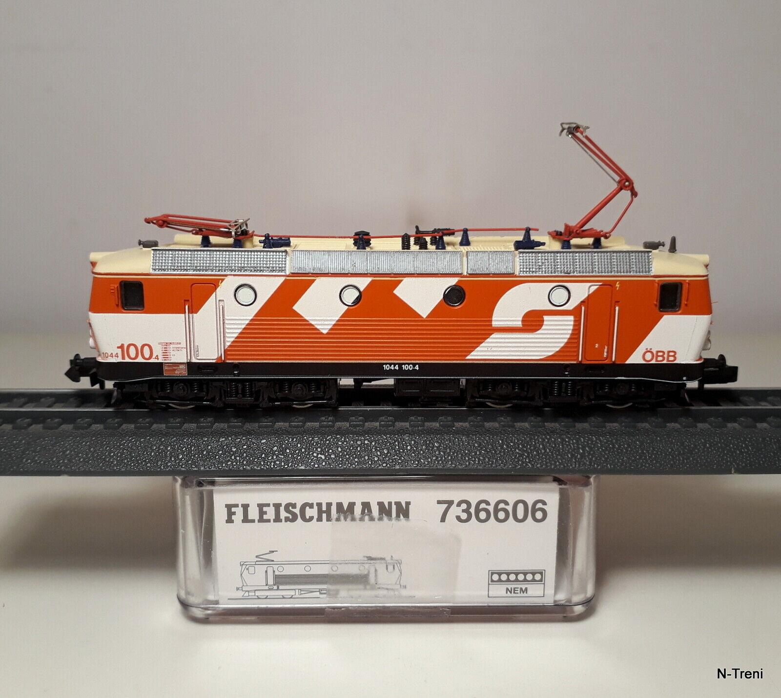 Fleischuomon N 736606  Loco elettrica Rh 1044 1004 delle OBB