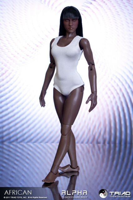 Triad Toys African American Alpha Female Action Figure Body