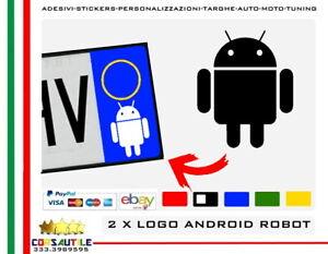 2X-ADESIVO-ANDROID-ROBOTTINO-STICKER-LOGO-per-AUTO-MOTO-TARGA-VETRO-LAMIERA