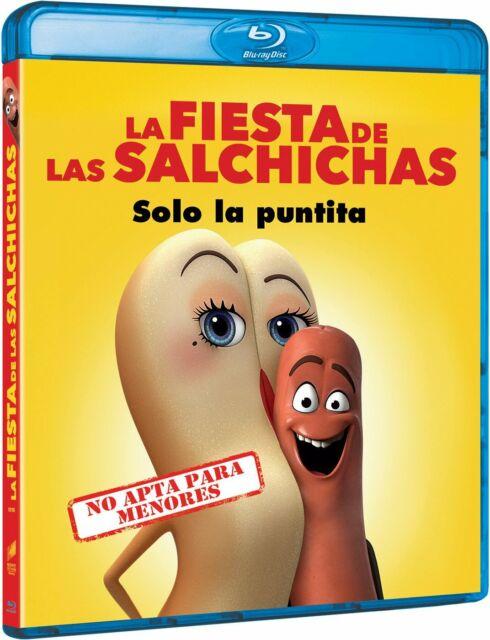 Blu-ray La Fiesta de las Salchichas - Nuevo - Edicion Española (Sausage Party)