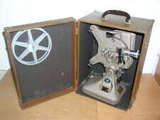 Vintage Deco Keystone K-160 Projector W/Case & Reel