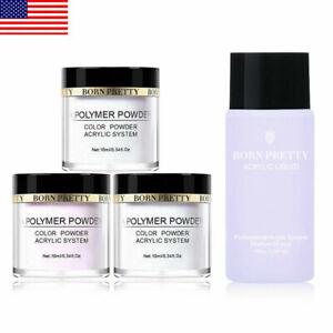 BORN-PRETTY-Clear-Acrylic-Powder-Kit-Nail-French-Extension-Tools-Acrylic-Liquid