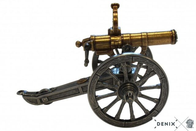 Civil War Gatling Gun Metal Display Model 6 88