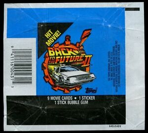 Back To The Future Part II, Trading Card Wrapper #W4