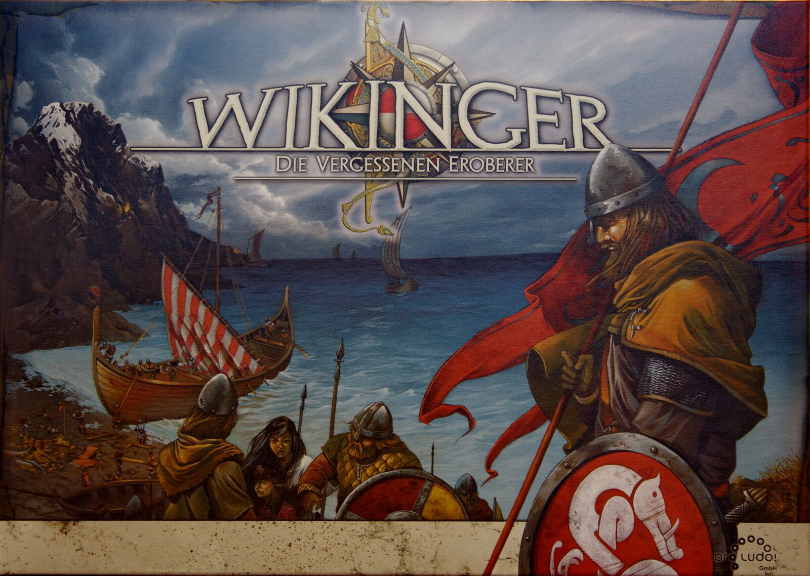 Jeu de société Wikinger - Die Vergessenen Eroberer - Pro Ludo - Jeu en allemand