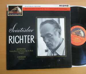 ALP-1881-Richter-Beethoven-Sonata-17-Schumann-Fantasia-HMV-Red-Gold-Mono-EX-EX