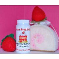 Strawberry Shortcake Handmade Scented Body Powder