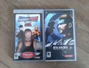Lot de 2 jeux complets pour PSP